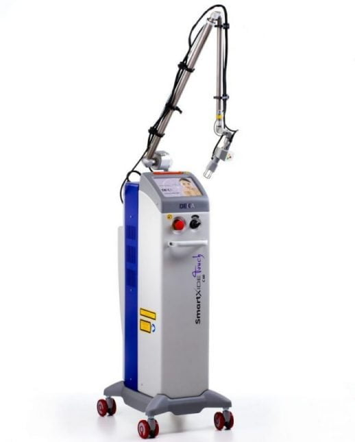 SmartXide Touch CO2 Laser treatment