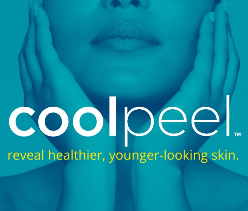 Coolpeel with slogan